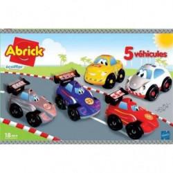 ABRICK Coffret 5 véhicules