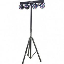BOOST 15-1186BO 4 projecteurs PAR sur barre transversale