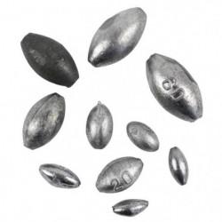 PECH'CONCEPT Assortiment Plombs Olives 10G 15G 20G