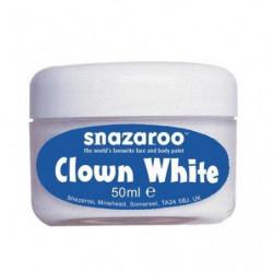 SNAZAROO Blanc de clown pot de 50ml