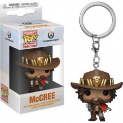 Porte-clés Funko Pocket Pop! Games: Overwatch - McCree