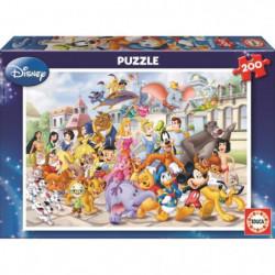 EDUCA - Disney Classiques - Puzzle - 200 pieces