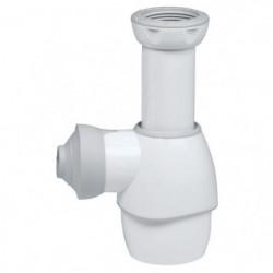 WIRQUIN Siphon de lavabo tout en un blanc/gris