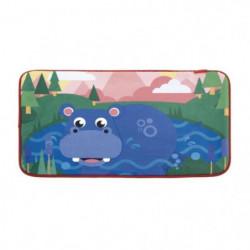 FISHER PRICE Tapis de Sol Hippopotame Pour enfant - 45x75 cm
