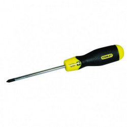 STANLEY Tournevis Cushion grip Phillips PH2x100mm