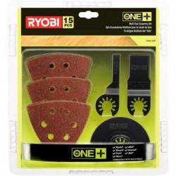 RYOBI 15 accessoires Multitool pour le travail du bois