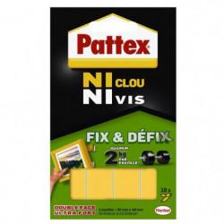 Ni clou ni vis Pattex - Pastilles 2 kg - Blanc