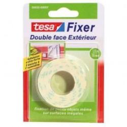 TESA Ruban adhésif Double face extérieur - 1,5m x 19mm