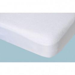 DOMIVA Protege-matelas Alese 60x120 Blanc