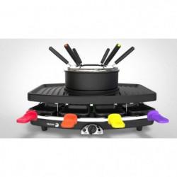 FAGOR FG816 Appareil combiné 3 en 1 raclette + fondue + grill
