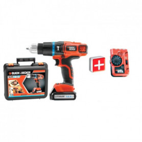 BLACK & DECKER Perceuse-visseuse sans fil EGBL148K