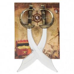 AMSCAN - Set d'accessoires Pirate - sabres