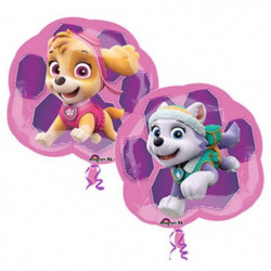 PAT'PATROUILLE Ballon - Fille - Rose