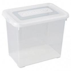 ALLIBERT Boîte de rangement Handy - Couvercle transparent