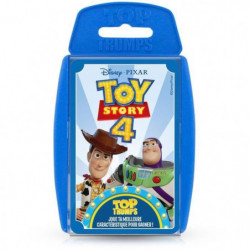 TOP TRUMPS - Toy Story 4 - Jeu de cartes - Version française