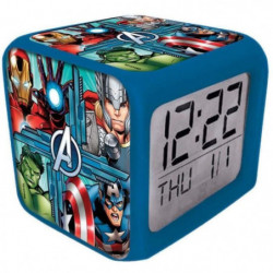 AV39903 - Réveil Color Changing Avengers
