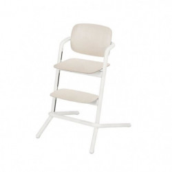 CYBEX Chaise haute bois Gold Lemo Porcelaine - Blanc