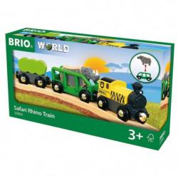 BRIO WORLD Train rhino safari