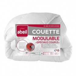 ABEIL Couette MODULABLE Spécial Couple 240x260cm
