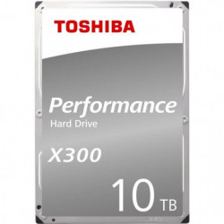 TOSHIBA - Disque dur Interne - X300 - 10To - 7 200 tr/min