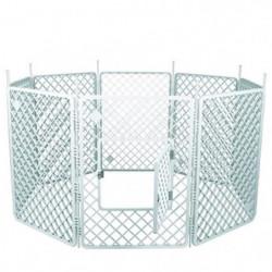 IRIS OHYAMA - Grand parc H-908 - Plastique - Blanc - 60 x 60