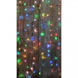 BLACHERE Rideau 60 LED RGB - 2 x 2 m - Connectable 3 fois