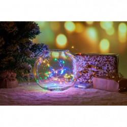 Guirlande de Noël Filaire - 120 Mini LED - Multicolore