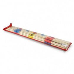 L'ARBRE A JOUER Mikado en bois 18 cm  - Pochette plastique