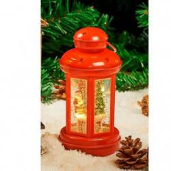 Lanterne Eau lumineuse et paillettes tourbillonnantes LED