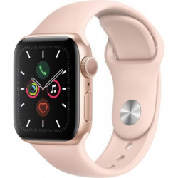 Apple Watch Series 5 GPS 40 mm Boîtier en Aluminium Or