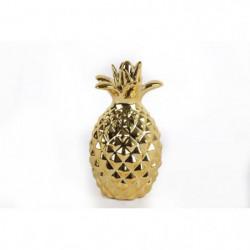 Ananas - 14 x 24 cm - Doré