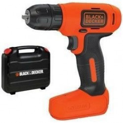 BLACK & DECKER Perceuse visseuse sans fil - 7,2 V