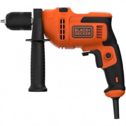 BLACK & DECKER Perceuse a percussion -  500 Watts - BEH200-QS