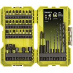 RYOBI Coffret 38 accessoires mixtes spécial impact
