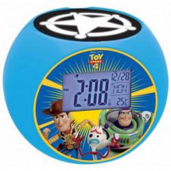 LEXIBOOK - Toy Story 4 - Radio Réveil Enfant avec Projection
