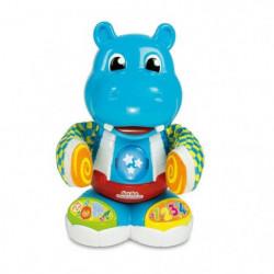 CLEMENTONI Baby - Harper, l'hippo danseur - Jeu d'éveil interactif