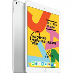 "iPad 7 10,2"" Retina 128Go WiFi + Cellular - Argent"