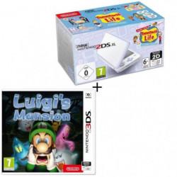 Console New Nintendo 2DS XL Blanc/Lavande & Tomodachi Life