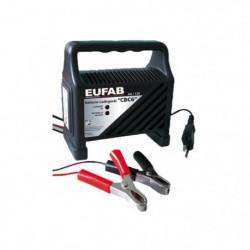 EUFAB Chargeur de Batterie 6A -12 V
