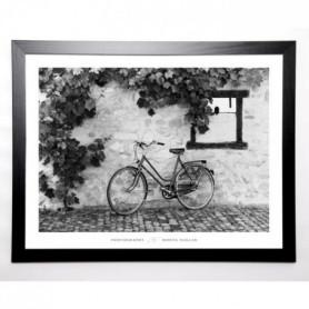 NAGLER Image encadrée La Bicyclette, Turckheim