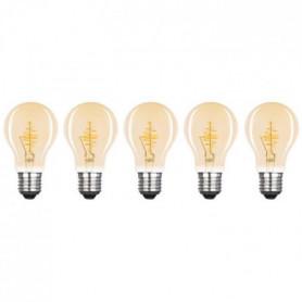 XQ-LITE Lot de 5 ampoules filament LED E27
