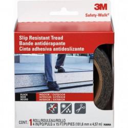 3M Bande adhésive antidérapante - 4,5 m x 101 mm - Noir
