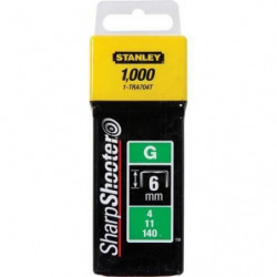 STANLEY 1000 agrafes 6mm type G