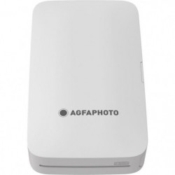 "AGFA AMP23WH Mini imprimante photo - 2*3"" - Blanc"