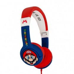 Casque Super Mario Junior - Rouge, Blanc et Bleu