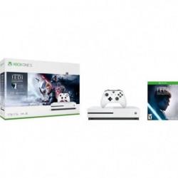Xbox One S 1To Star Wars Jedi : Fallen Order + 1 mois d'essai au