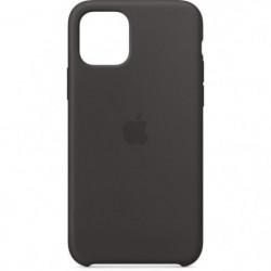 APPLE Coque Silicone Noir pour iPhone 11 Pro
