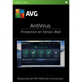 AVG AntiVirus (3 PC - 2 Ans)