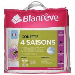 BLANREVE Couette 4 saisons - 140 x 200 cm - Blanc