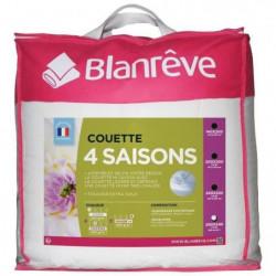 BLANREVE Couette 4 saisons - 240 x 260 cm - Blanc